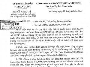 Tin tức Việt Nam - Vụ nói xấu chủ tịch tỉnh: Cán bộ thanh tra không đạt chuẩn?