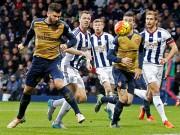 Bóng đá - West Brom - Arsenal: Cú vấp chân tai hại