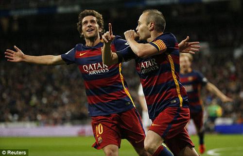 """Chùm ảnh: Ronaldo thất thần, Suarez - Neymar """"nhảy múa"""" - 8"""