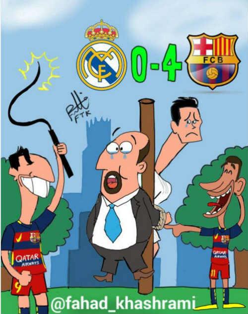 Báo chí sững sờ vì Barca, Zidane có thể thay Benitez - 3