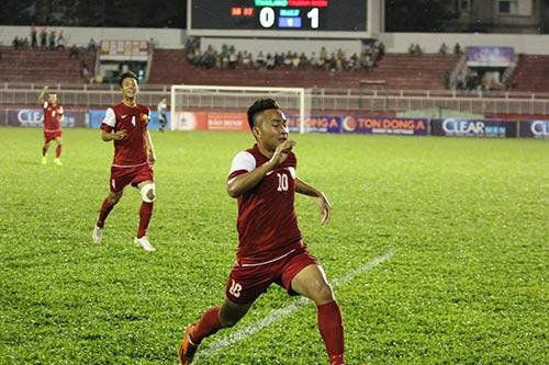 U21 VN: Cảm động Tuấn Tài khoe bàn thắng tặng mẹ - 3