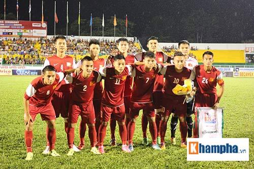 """Fan âu lo và vỡ òa khi U21 Việt Nam 4 lần """"ra đòn"""" - 1"""