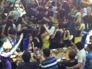 An ninh Xã hội - Đột kích 'vũ trường' lộ thiên ở trung tâm Sài Gòn