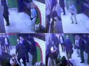 Bạn trẻ - Cuộc sống - Sốc với clip cô gái Hồi giáo bị đẩy vào tàu đang chạy