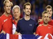 Thể thao - Tin thể thao HOT 22/11: Murray hoãn sang Bỉ vì lo sợ khủng bố