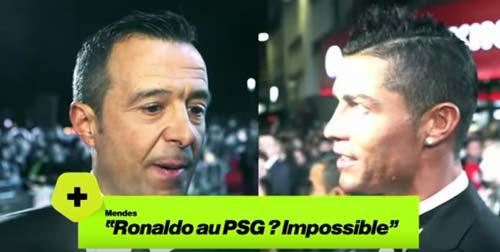 """Ronaldo gia nhập MU hoặc PSG là điều """"bất khả thi"""" - 1"""