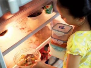 Ẩm thực - Đồ ăn nấu chín bảo quản trong tủ lạnh dễ gây ung thư