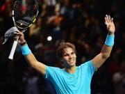 BXH tennis 23/11: Nadal văng khỏi top 4 sau 10 năm