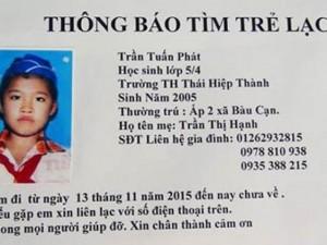 Tin tức trong ngày - Một học sinh 10 tuổi mất tích bí ẩn