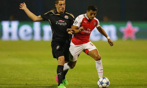 Arsenal vs Dinamo Zagreb - 1