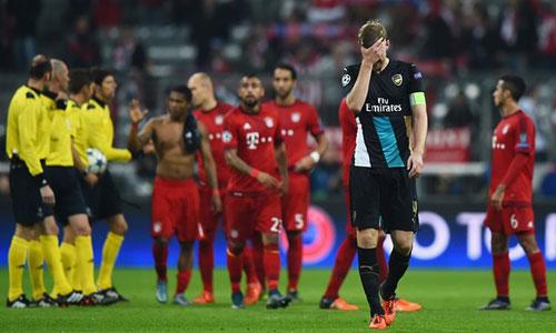 "Bayern – Olympiakos: ""Cứu vớt"" Arsenal - 1"