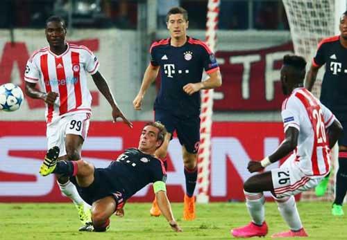 "Bayern – Olympiakos: ""Cứu vớt"" Arsenal - 2"