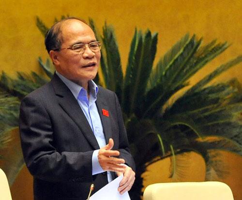 Ông Nguyễn Sinh Hùng làm Chủ tịch Hội đồng bầu cử quốc gia - 1