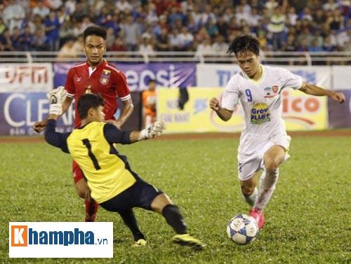U21 HAGL - U21 Myanmar: Bữa tiệc 7 bàn thắng - 1