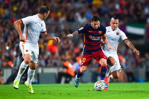 Chi tiết Barca - Roma: Dzeko ghi bàn (KT) - 9