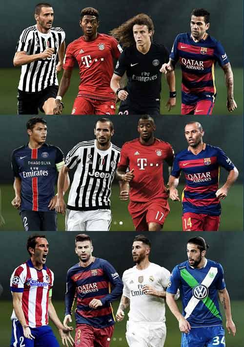 Ăn ba, Barca áp đảo đề cử đội hình tiêu biểu UEFA - 3