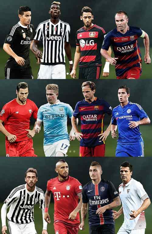 Ăn ba, Barca áp đảo đề cử đội hình tiêu biểu UEFA - 4