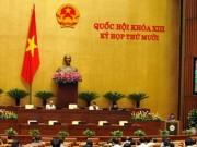 Tin tức Việt Nam - Chủ tịch nước phải tuyên thệ sau khi được bầu