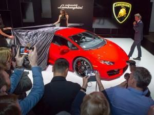 Lamborghini Huracan LP 580-2 vén màn tại LA Auto Show
