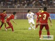 """Bóng đá - Công Phượng nhảy múa làm """"loạn"""" hàng thủ Myanmar"""