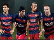 Bóng đá - Ăn ba, Barca áp đảo đề cử đội hình tiêu biểu UEFA