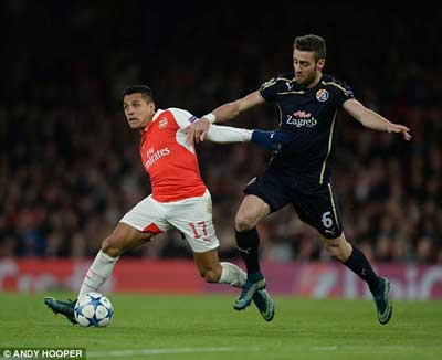 Truc tiep Arsenal - 4