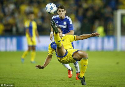 Chi tiết Maccabi – Chelsea: Zouma góp vui (KT) - 3