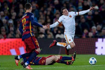 Chi tiết Barca - Roma: Dzeko ghi bàn (KT) - 8