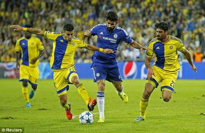 Chi tiết Maccabi – Chelsea: Zouma góp vui (KT) - 6