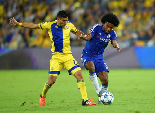 Video Maccabi Tel Aviv vs Chelsea - 1