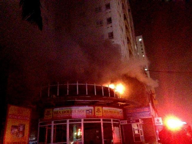 Cháy chung cư ở Hà Nội - 1