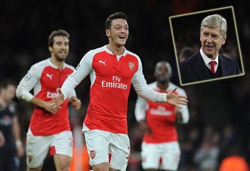 Arsenal sống lại hi vọng cúp C1, Wenger cảm ơn… Bayern - 1