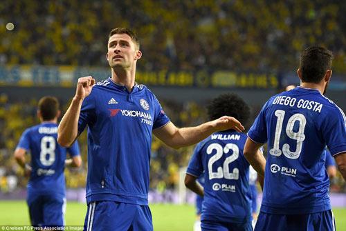 """Cãi nhau dữ dội, Mourinho hôn Costa để """"làm lành"""" - 2"""