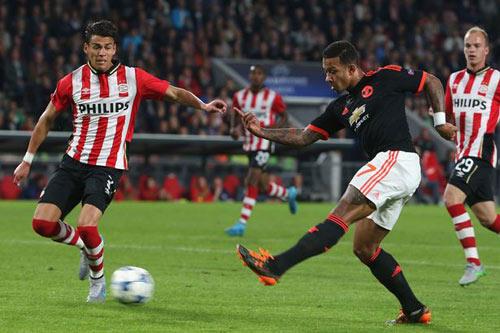 MU vs PSV - 1