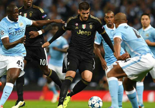 Juventus vs Man City - 1