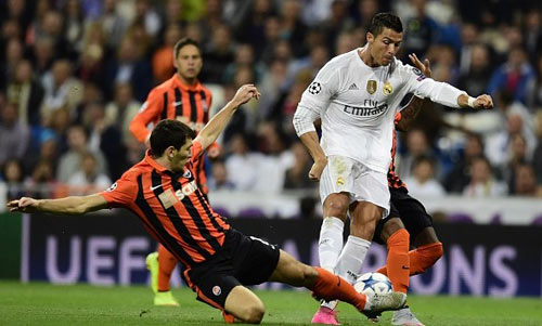Shakhtar Real Madrid - 2