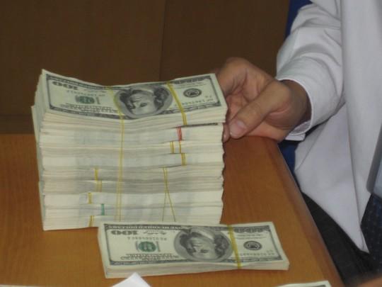 Giá USD tự do đột ngột giảm mạnh - 1