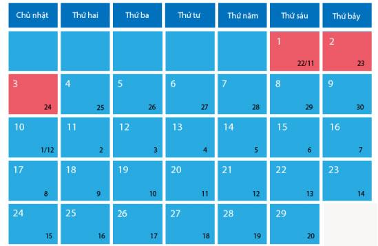 Tết Dương lịch được nghỉ bao nhiêu ngày? - 1