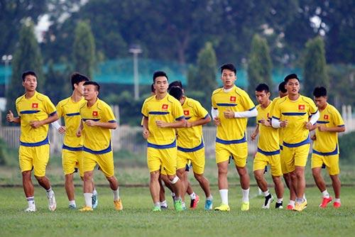 U21 Việt Nam luyện sút luân lưu chờ đấu U21 HAGL - 1