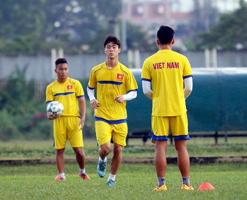 U21 Việt Nam luyện sút luân lưu chờ đấu U21 HAGL - 2