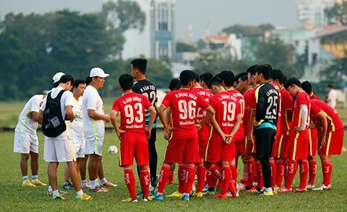 U21 Việt Nam luyện sút luân lưu chờ đấu U21 HAGL - 8