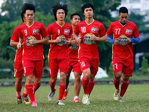 U21 Việt Nam luyện sút luân lưu chờ đấu U21 HAGL - 11