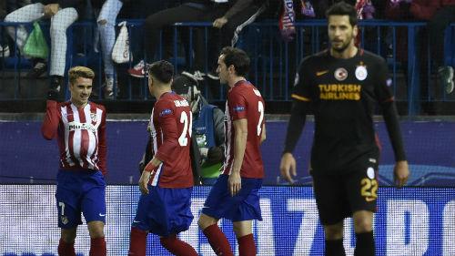 Atletico - Galatasaray: Gương mặt thân quen - 1