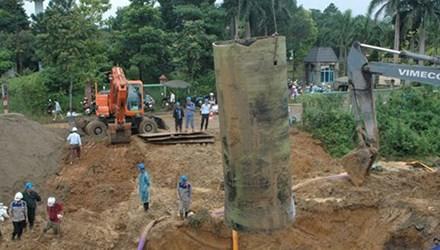 Đề nghị truy tố 9 bị can vụ vỡ đường ống nước sông Đà - 1