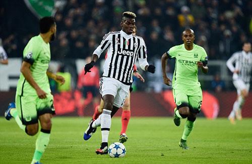 "Pogba ""che mờ"" Toure ngày Juventus hạ Man City - 1"
