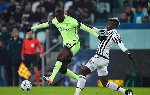 "Pogba ""che mờ"" Toure ngày Juventus hạ Man City - 2"