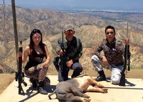 Đại gia Trung Quốc mua trực thăng để... sang Mỹ đi săn - 1