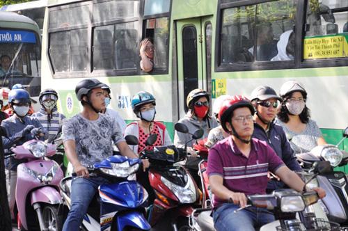 Kẹt cứng ở trung tâm Sài Gòn vì... diễn tập PCCC - 5