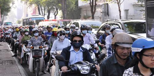 Kẹt cứng ở trung tâm Sài Gòn vì... diễn tập PCCC - 6