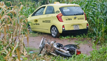 Taxi tông chết cô gái mang thai 9 tháng - 1